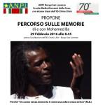 """BORGO SAN LORENZO – """"Percorso sulle memorie"""" per la settimana d'azione contro il razzismo"""