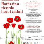 BARBERINO DI MUGELLO – Ricorda i suoi caduti