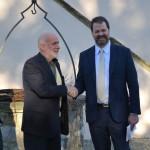 """BORGO S. LORENZO – Il vice Console USA in visita al Villaggio """"La Brocchi"""""""