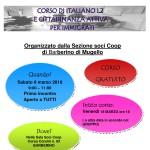 BARBERINO DI MUGELLO – Cittadinanza attiva e italiano – Un corso per immigrati