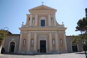 La basilica di San Valentino a Terni dove sono custodite le spoglie del Santo