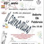"""VICCHIO – E' tempo di """"Carnevalino"""""""