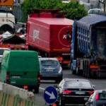 VIABILITA'- Tamponamento tra due camion tra Calenzano e Variante di Valico