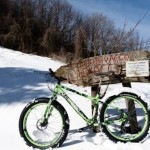 Bikemood – Bellissimo reportage fotografico dell'uscita all'Anello dei Diacci con 30 cm di neve