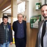 """BORGO SAN LORENZO – Grazie agli """"Amici delle Biblioteche"""",  un nuovo defibrillatore alla palestra delle scuole elementari di via Leonardo da Vinci"""