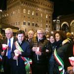 Firenze – Cinquecento persone alla fiaccolata per ricordare le vittime di Bruxelles