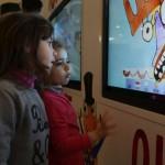 FIRENZE – Al Meyer due enormi schermi per i bambini in attesa di una visita o un esame