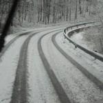 MUGELLO – Nevicate in atto sui principali passi appenninici – Alcune immagini