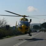Grave incidente tra Borgo San Lorenzo e Vicchio