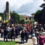 Mugello – Ovunque manifestazioni per il 25 aprile. Le immagini di Borgo, Barberino e Vicchio