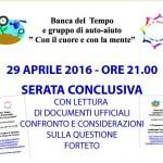 Borgo San Lorenzo – QUESTIONE FORTETO un terzo  incontro con i Cittadini