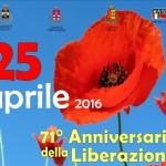 Pontassieve – Pelago – Rufina – 71° anniversario della liberazione – Il programma degli eventi