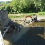 """Borgo San Lorenzo – Importante intervento al """"Ponte di Annibale"""" a Sagginale"""