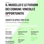 Borgo San Lorenzo – Iniziativa del PD – Il Mugello e le fusioni dei Comuni: vincoli e opportunità