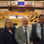 Quattro Sindaci dell'Unione di Comuni Valdarno e Valdisieve a Bruxelles ospiti dell'eurodeputato Danti