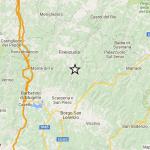 Terremoto – In Mugello scossa di magnitudo 3.6 tra Firenzuola e Scarperia avvertita distintamente