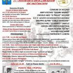 Vicchio – Tutte le iniziative del 25 Aprile