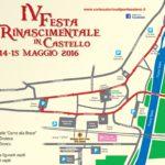 Pontassieve – Tutto pronto per la IV Festa rinascimentale.