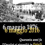 """VentunoZeroSei  6 maggio 1976  L'""""Orcolat"""" colpisce il Friuli  Una testimonianza – """"I ricordi di Paolo Zuliani a quarant'anni dal terremoto"""""""
