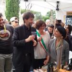 LONDA all'Appia day di Roma – Allo stand Ermete Realacci e il Ministro Franceschini