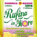 Rufina – Mostra mercato dei fiori, prodotti enogastronomici, artigianato, antiquariato.
