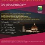 Borgo San Lorenzo – Un buon debutto per il treno del sabato sera