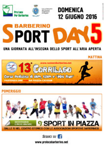 Barberino Sport day 2016 1