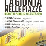 """Barberino di Mugello – """"LA GIUNTA NELLE PIAZZE"""", incontri pubblici d'estate 2016"""