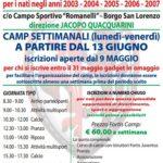 """Borgo S. Lorenzo – Il settimo anno dei """"Fortis Camp"""""""