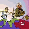 La Sindaca di Cascina commenta con una vignetta l'ultimo attacco dell'Isis in Francia.