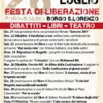 """Borgo San Lorenzo – Da giovedi la """"Festa di Liberazione"""""""