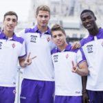 La Primavera dell'AC Fiorentina allo stadio Alessia Ballini di Scarperia San Piero a Sieve