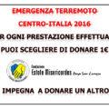Borgo S. Lorenzo – La Fondazione Estote Misericordes a sostegno delle popolazioni terremotate