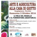 """Vicchio – """"Arte e agricoltura"""" alla Casa di Giotto"""