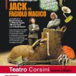 """Barberino di Mugello  – Al teatro Corsini ritorna il """"Teatro dei Piccoli"""" con JACK E IL FAGIOLO MAGICO"""