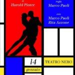 """MARCO PAOLI  in scena al Teatro Nero di Modena con """"L'Amante"""" di Pinter"""