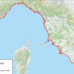 """Toscana – """"Ciclovia Tirrenica"""" – Firmato l'accordo – Un tracciato da Ventimiglia a Roma"""