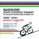 """Ciclismo – Il circuito """"mondiale"""" tra Firenze e Fiesole con tanto di segnaletica"""