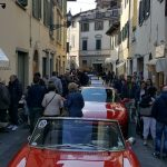 Oggi pomeriggio Borgo S. Lorenzo invaso da bellissime auto d'epoca