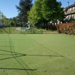 """Barberino di Mugello – Terminati i lavori per la realizzazione dell'area """"gioco con la palla"""" ai giardini di Via della Libertà."""