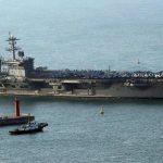 Portaerei USA in rotta verso la Corea del Nord