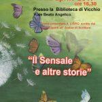 """Vicchio – La presentazione del libro """"Il sensale e altre storie"""" realizzato dai partecipanti all'Atelier di Scrittura."""