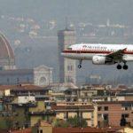 Firenze – Oggi disagi per il vento forte all'aeroporto di Peretola