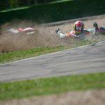Cade Andrea Bolognesi nella prima prova del Campionato Italiano di Velocità – Frattura ad una mano