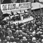 25 aprile, Rossi alla manifestazione del Pignone