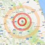Attività sismica in aumento al centro Italia
