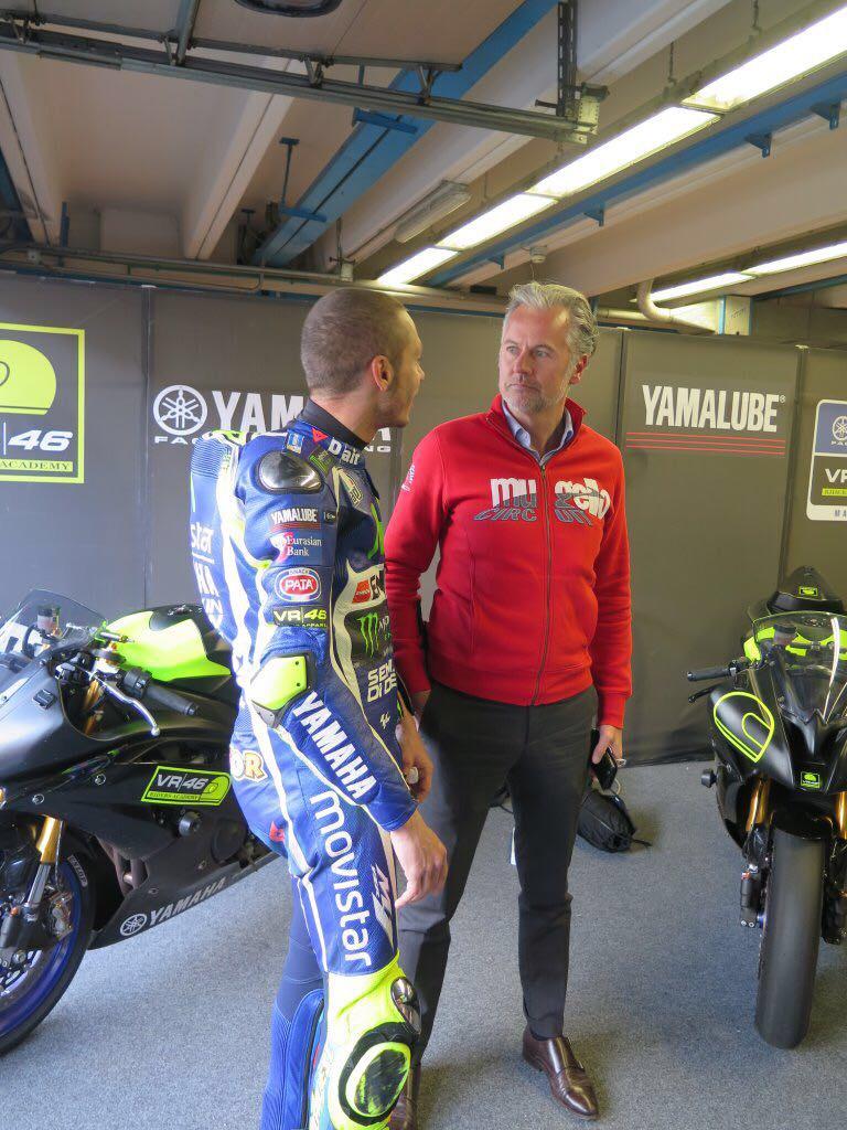 Oggi Valentino Rossi al Mugello Circuit