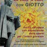 """Vicchio – """"Da sole a sole"""" artisti all'opera alla casa di Giotto"""