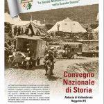 """Reggello – A Vallombrosa il convegno nazionale """"La Sanità Militare e la Croce Rossa Italiana nella Grande Guerra"""""""