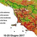 Meteo – Le previsioni di Luca Varlani per il week end ed una analisi della situazione siccità in Toscana